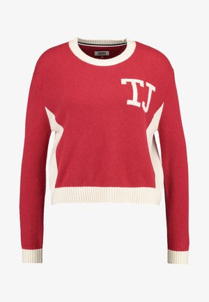 CROPPED - Pullover - red