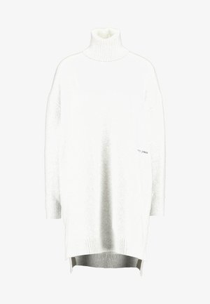 TURTLE NECK SPLIT - Strikkegenser - pale grey