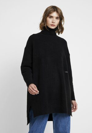 TURTLE NECK SPLIT - Svetr - black
