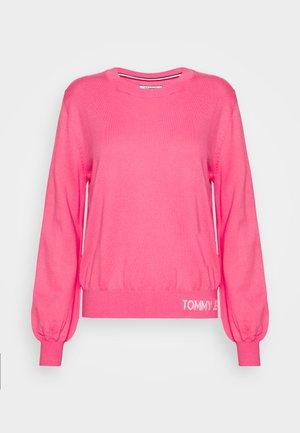 FINE CREW NECK SWEATER - Jumper - glamour pink