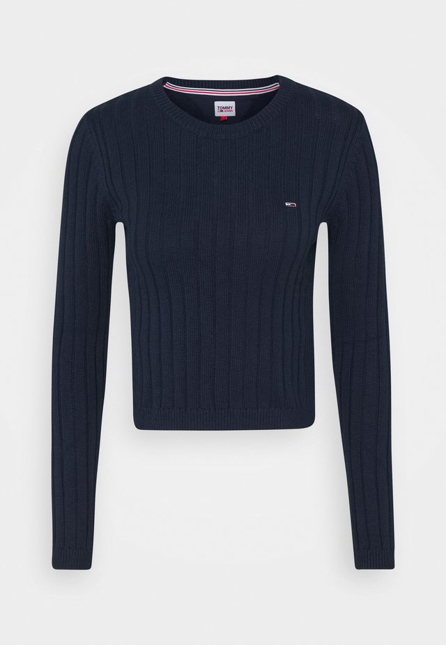 REGULAR - Strikpullover /Striktrøjer - twilight navy