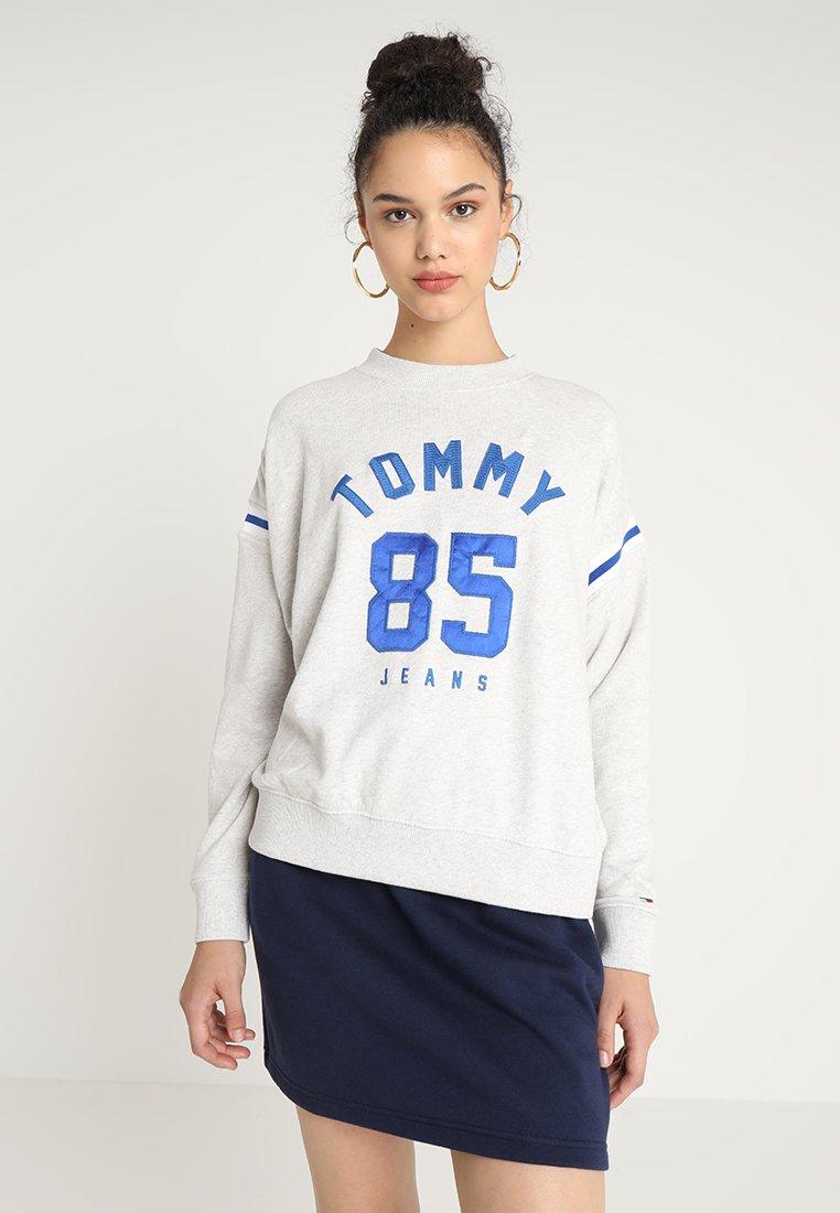 Tommy Jeans - INSERT - Sweatshirt - pale grey heather