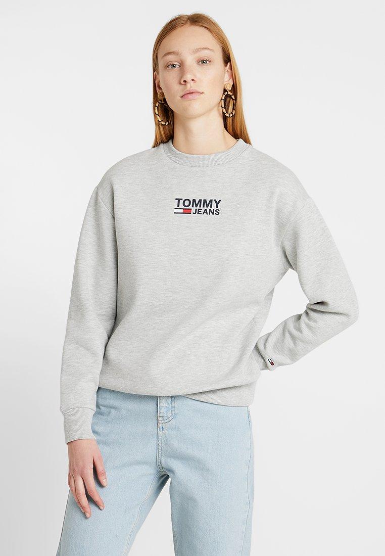 Tommy Jeans - BOLD TOMMY CREW - Sweatshirt - grey