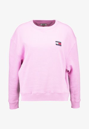 BADGE CREW - Sweatshirt - lilac