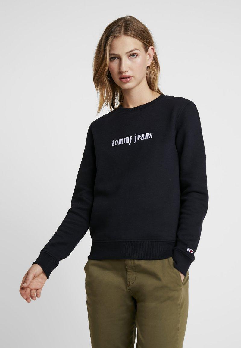 Tommy Jeans - CASUAL - Sweatshirt - tommy black