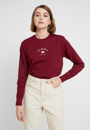 AMERICANA LOGO LONGSLEEVE - Long sleeved top - rhododendron
