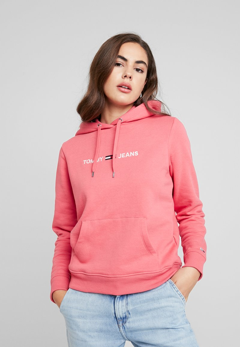 Tommy Jeans - Hoodie - claret red