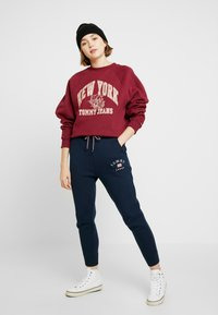 Tommy Jeans - LOGO RAGLAN - Mikina - rhododendron - 1