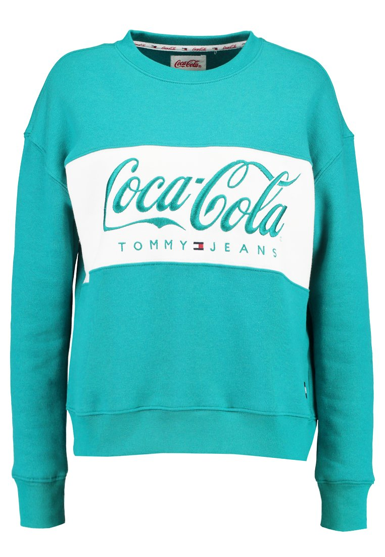 Tommy Jeans TOMMY X COCA COLA Collegepaita bright white