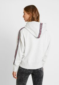 Tommy Jeans - TJW TONAL TAPE HOODIE - Hoodie - pale grey heather - 2