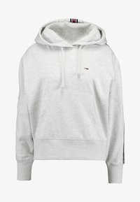 Tommy Jeans - TJW TONAL TAPE HOODIE - Hoodie - pale grey heather - 4