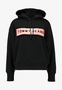 Tommy Jeans - COLLEGIATE HOODIE - Hoodie - black - 3