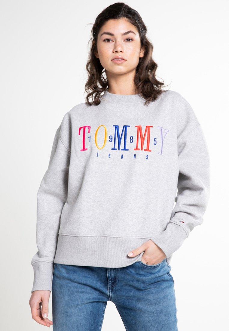 Tommy Jeans - Sweatshirt - light grey