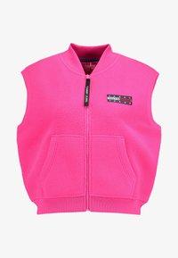 Tommy Jeans - POLAR GILET - Smanicato - pink - 4