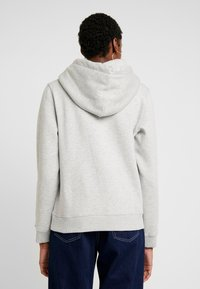 Tommy Jeans - METALLIC HOODIE - Hoodie - light grey heather - 2