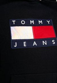 Tommy Jeans - METALLIC HOODIE - Hoodie - black - 5
