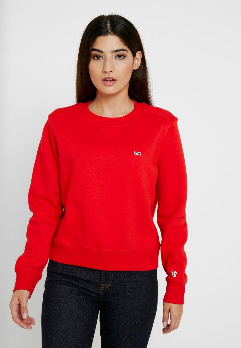 Tommy Jeans - CLASSICS - Sweatshirt - flame scarlet