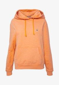 Tommy Jeans - BRANDED HOODIE - Hoodie - melon orange - 3