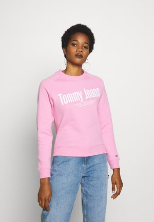 TJW CHEST LOGO - Sweatshirt - pink daisy