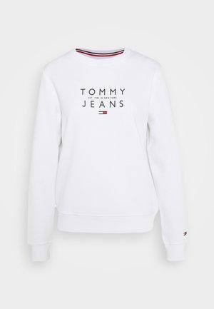 ESSENTIAL LOGO - Sweatshirt - white