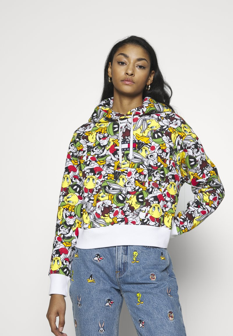 Tommy Jeans - LOONEY TUNES HOODIE  - Mikina skapucí - multi-coloured