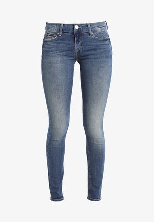 MID RISE SKINNY NORA - Jeans Skinny - royal blue stretch