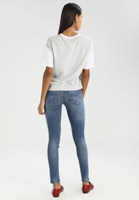 Tommy Jeans - MID RISE SKINNY NORA - Jeansy Skinny Fit - royal blue stretch - 2