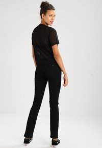 Tommy Jeans - SANDY  - Straight leg jeans - dana black - 0