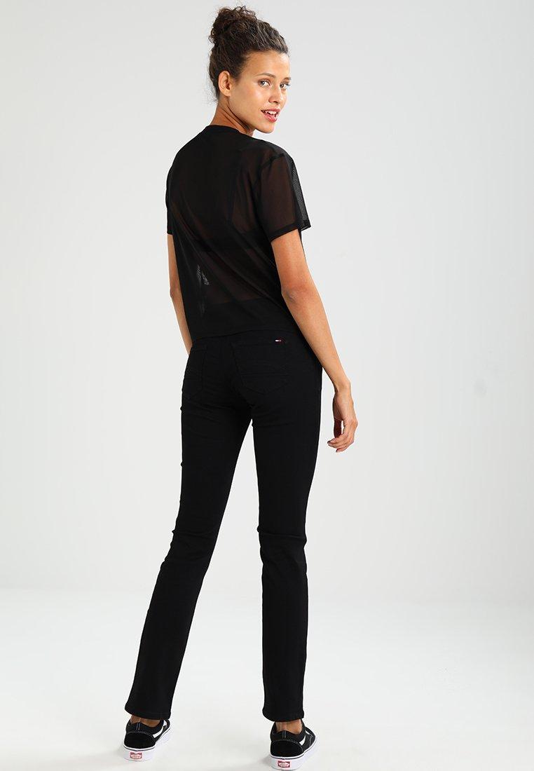 Tommy Jeans - SANDY  - Straight leg jeans - dana black