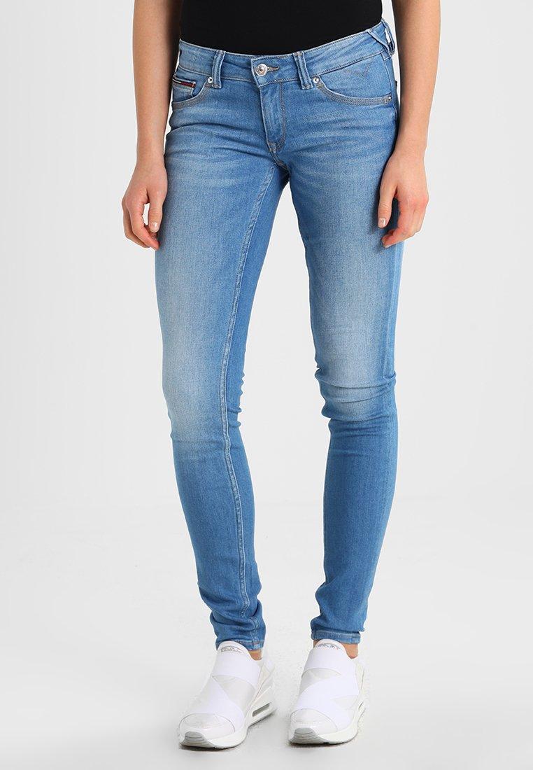 Tommy Jeans - LOW RISE SKINNY SOPHIE  - Jeans Skinny Fit - santa cruz stretch