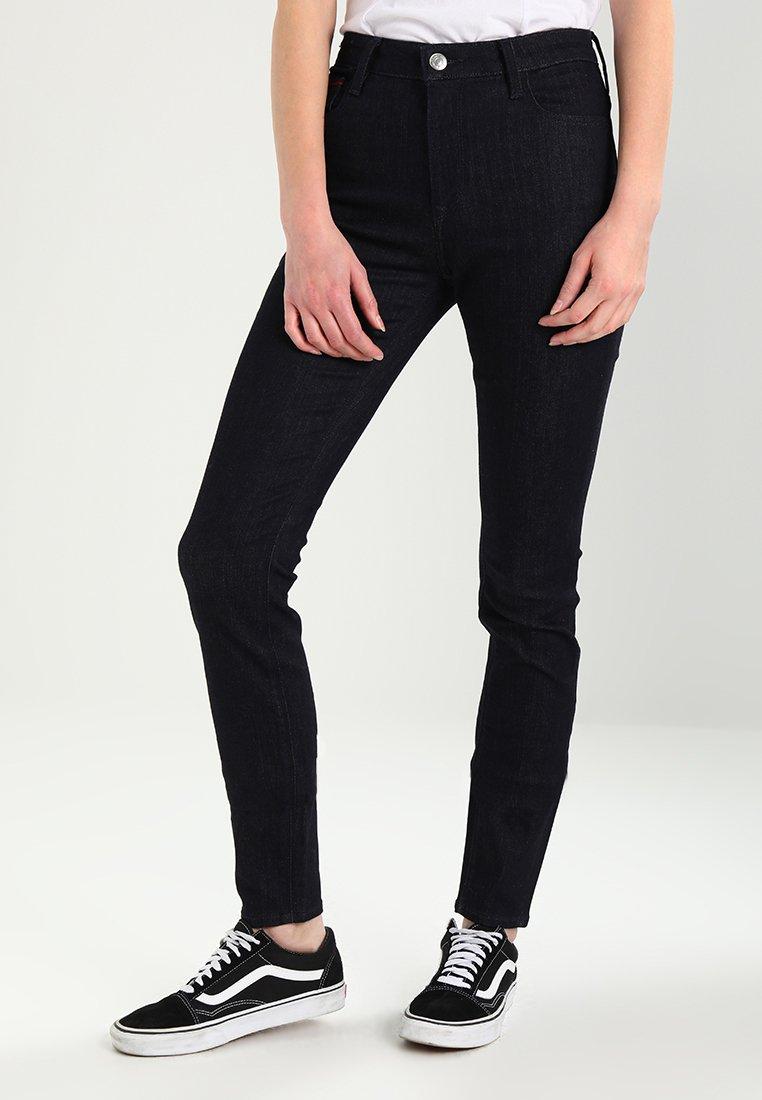 Tommy Jeans - HIGH RISE SANTANA - Jeans Skinny Fit - black denim