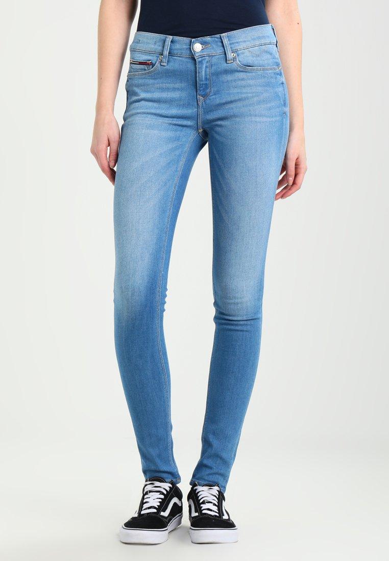 Tommy Jeans - MID RISE SKINNY NORA - Jeans Skinny Fit - santa cruz stretch