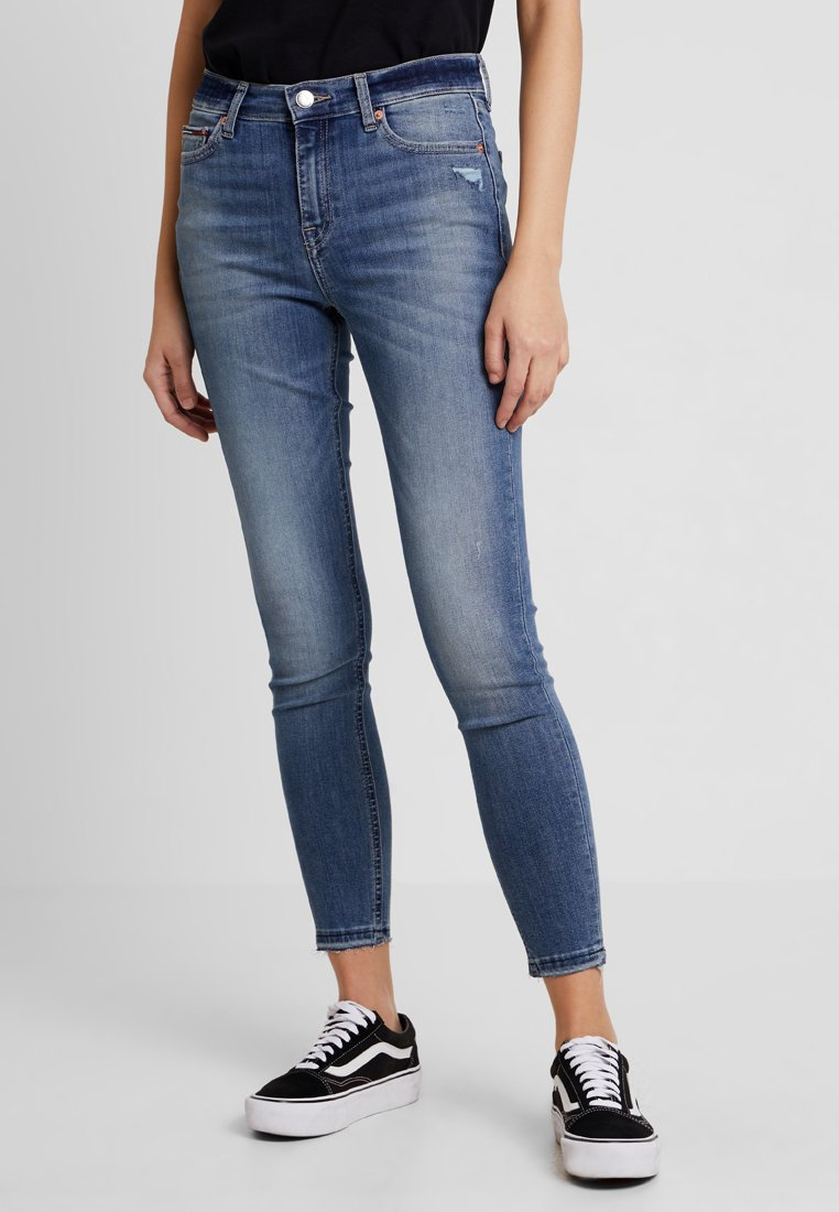 Tommy Jeans - MID RISE NORA - Jeans Skinny Fit - baloon light