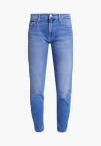 Tommy Jeans - HIGH RISE CROP - Džíny Slim Fit - blue denim - 4