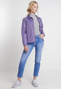 Tommy Jeans - HIGH RISE CROP - Jeans slim fit - blue denim - 1