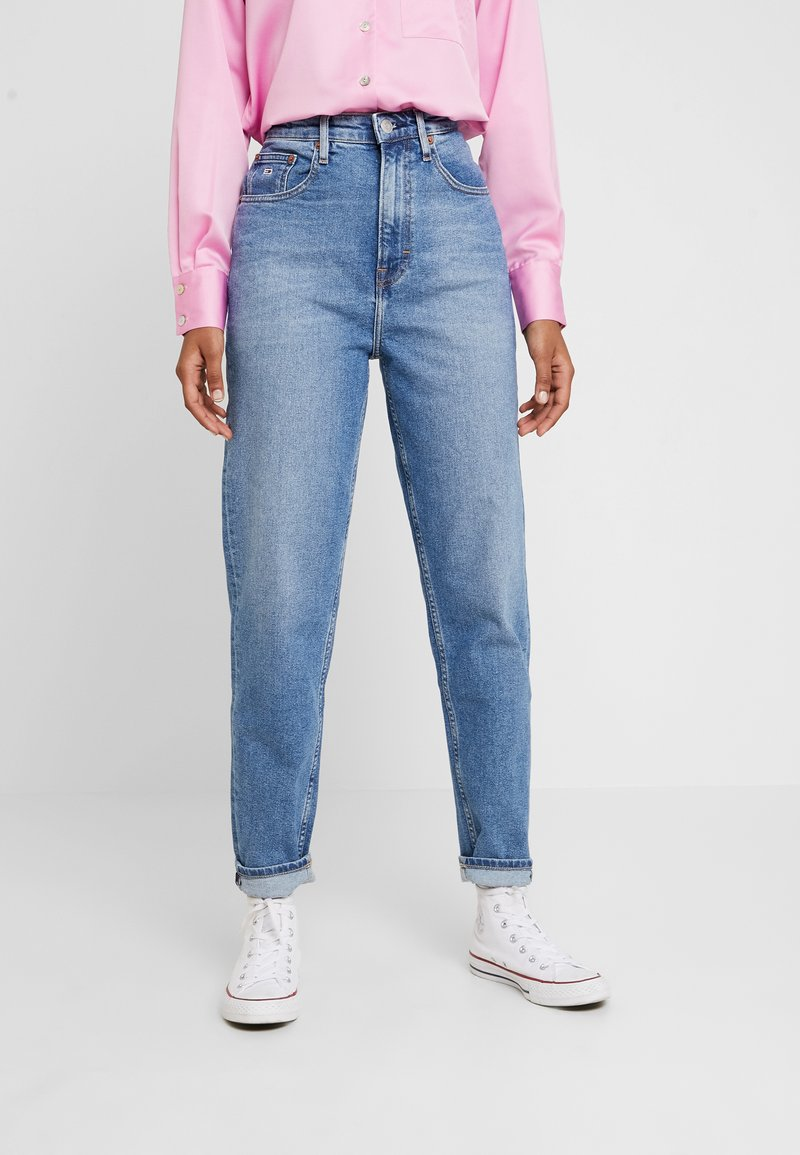 Tommy Jeans - HIGH RISE - Relaxed fit jeans - blue denim