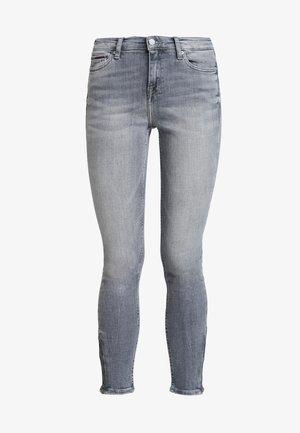 MID RISE NORA 7/8 ZIP - Jeans Skinny Fit - georgia grey