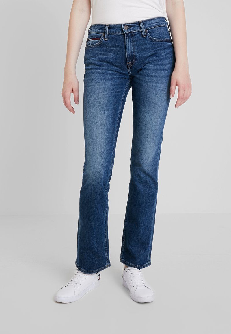 Tommy Jeans - MID RISE 1979 - Bootcut jeans - utah mid bl com