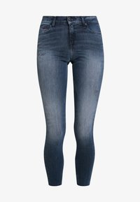 Tommy Jeans - LOW RISE SOPHIE 7/8 - Jeans Skinny Fit - dark blue denim - 4