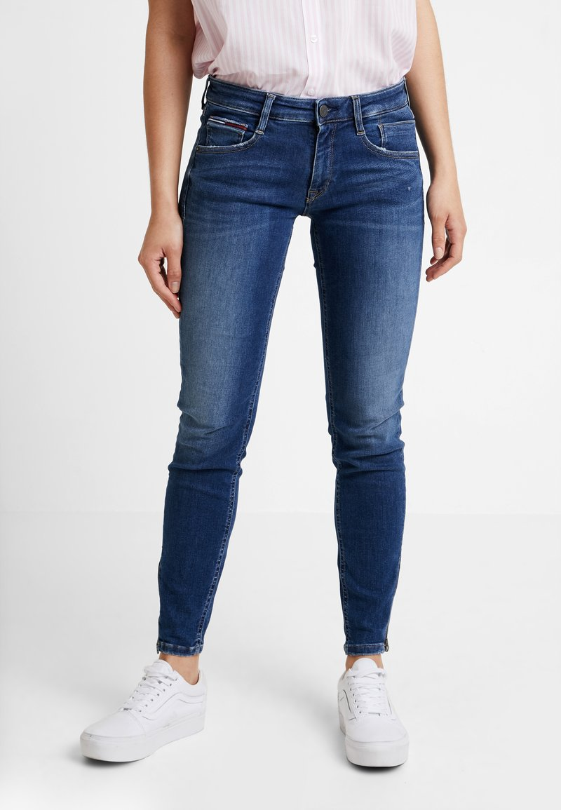 Tommy Jeans - LOW SCARLETT - Jeans Skinny Fit - oregon mid blue