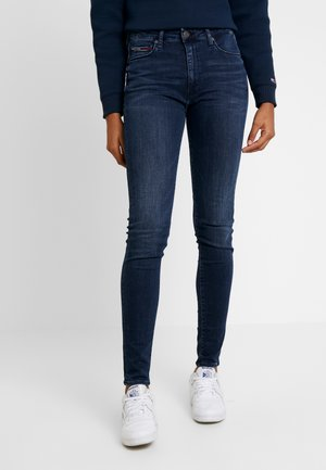 HIGH RISE - Jeans Skinny Fit - fresno dark blue