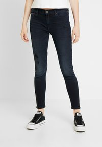 Tommy Jeans - MID RISE SKINNY NORA ZIP - Jeans Skinny - capitol - 0