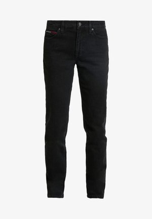 MID RISE STRAIGHT 1985 - Straight leg jeans - black denim