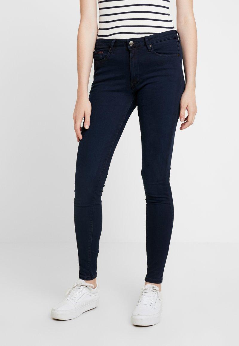 Tommy Jeans - HIGH RISE - Skinny džíny - avenue dark blue