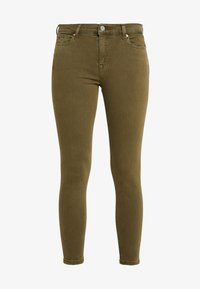 Tommy Jeans - NORA MID RISE - Jeans Skinny Fit - martini olive - 4