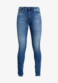 Tommy Jeans - TJ 2008 HIGH RISE SUPER SKNY MNM - Jeans Skinny - maine mid bl str - 4
