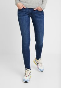 Tommy Jeans - SCARLETT  - Jeans Skinny Fit - dark blue denim - 0