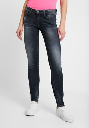 SCARLETT LOW RISE SKINNY - Jeans Skinny - black denim