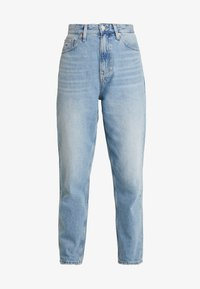 Tommy Jeans - MOM HIGH RISE TAPERED - Jeans relaxed fit - sunday light blue - 4