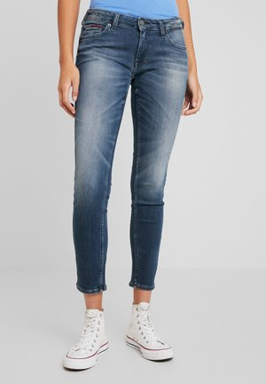 SOPHIE LOW RISE - Jeans Skinny Fit - stone blue denim